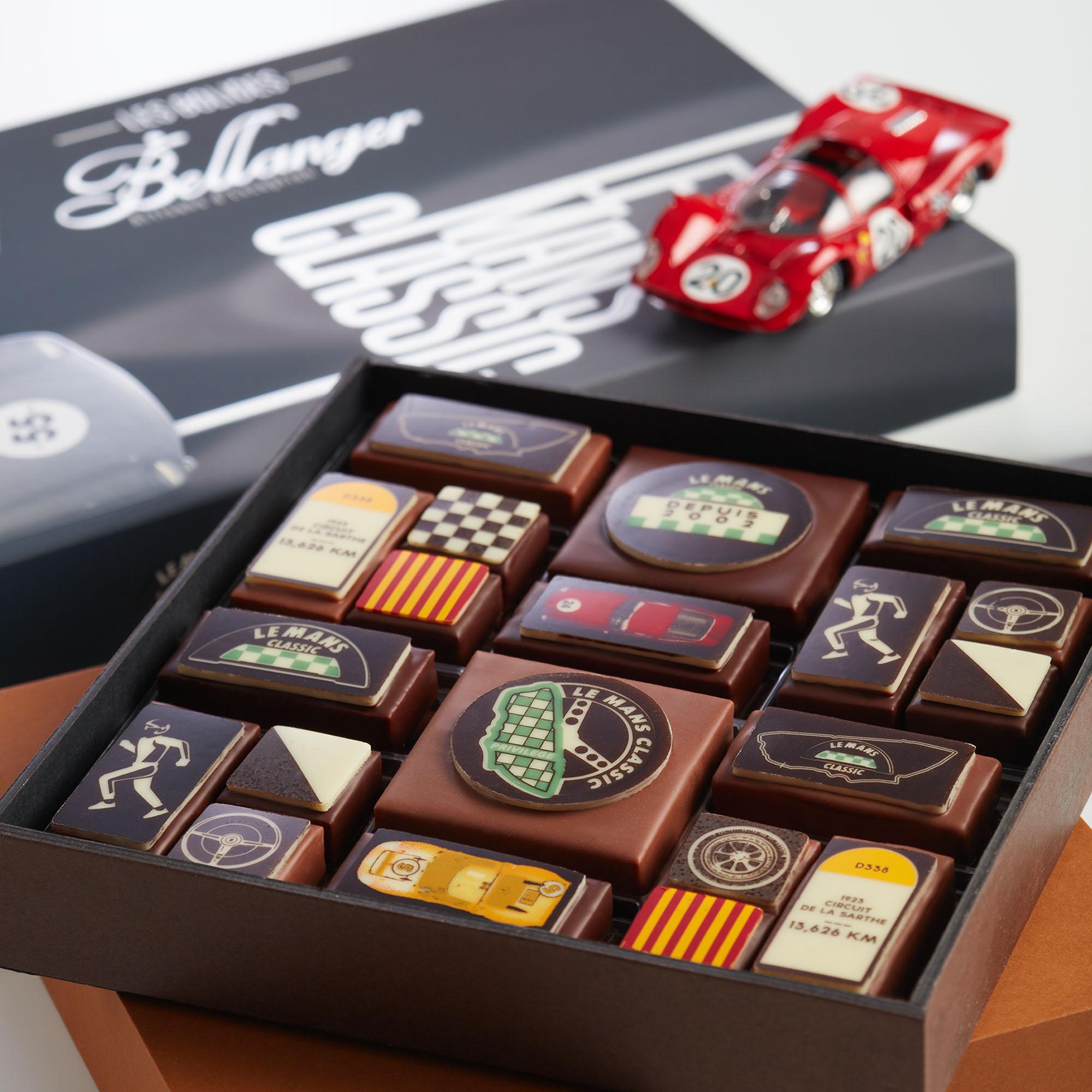 chocolats bellanger le mans classic