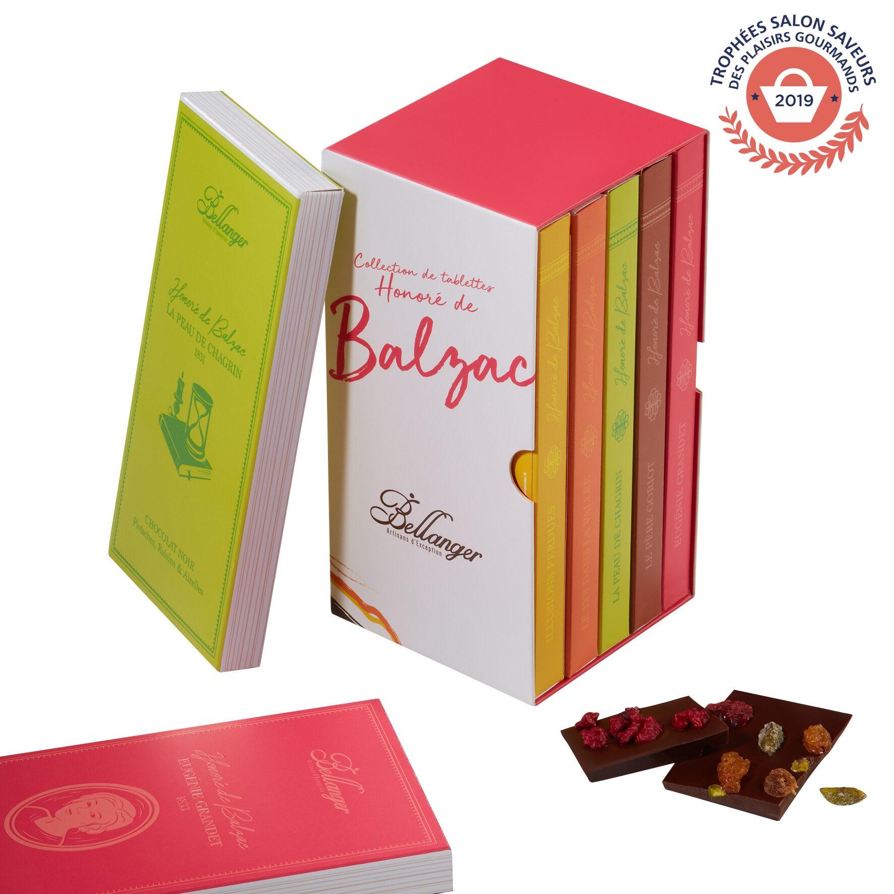 BALZAC – COFFRET 5 TABLETTES